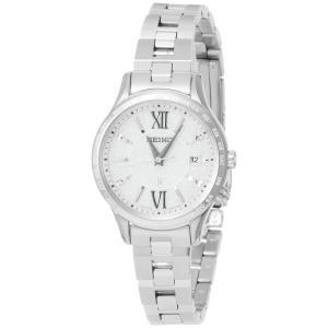 [ルキア]LUKIA 腕時計 LUKIA ソーラー電波 フローズンホワイト文字盤 10気圧防水 SSVV035 レディース azsys