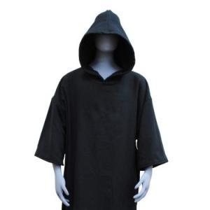 今治タオル生地のサーフポンチョ お着替え タオルポンチョ サーフィン 綿100% oruta (ブラック|azsys