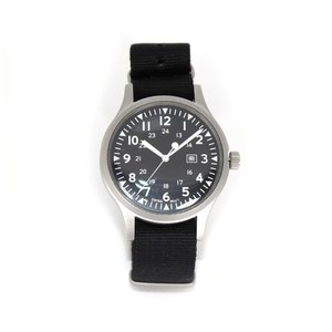 [Naval watch co.] ミリタリーウォッチNaval Military watch Mil.-01 US Force Type azsys