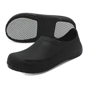 [テノシ] コック シューズ 厨房 作業靴 ワークマン 靴 食品関係作業用 安全靴 調理靴 キッチンシューズ 耐油 耐滑 防水 滑り止め 26.5cm 黒 43 azsys