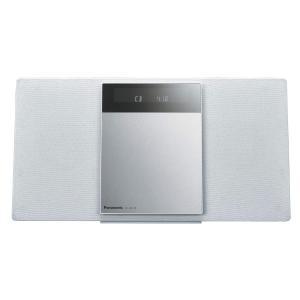 パナソニック ミニコンポ FM/AM 2バンド Bluetooth対応 4GBメモリー内蔵 ホワイト SC-HC410-W azsys