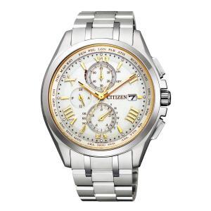 [シチズン] 腕時計 アテッサ エコ・ドライブ電波時計 ダイレクトフライト ペア限定モデル 限定2 azsys