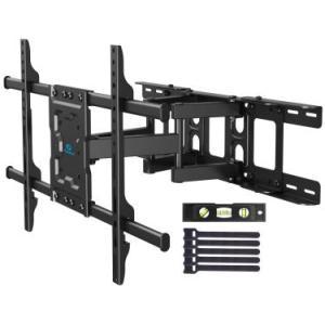 Pipishell テレビ壁掛け金具 大型 37-70インチ対応 アーム式 耐荷重60kg LCD LED 液晶テレビ用 前後&左右&上下多角度調節可能 VESA600x400mm azsys