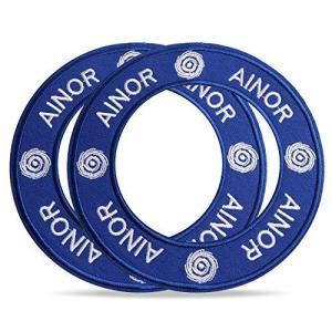 (アイノウ)AINOR 空調ウェア自作キット ワッペン 2枚セット/ 4枚セット 空調ウェア(服) 自作用 空調服作成用ワッペン 空調ウェア加工 自作キット … (2枚セ azsys