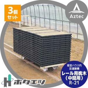 ホクエツ|ハウス トロッコ レール用枕木(中間用) R-21 3個セット|aztec