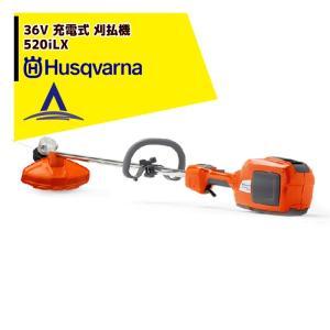 【Husqvarna】ハスクバーナ刈払機 ループハンドル 充電器/急速充電器セット品 536LiLX aztec