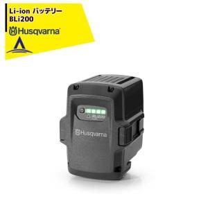 【Husqvarna】ハスクバーナ  共通バッテリー 単品 リチウムイオン Li-Ion バッテリー BLi200 aztec
