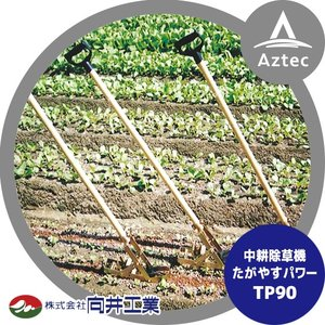 【向井工業】中耕除草機たがやすパワー TP90 耕幅:9cm|aztec