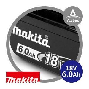 マキタ|18V/6.0Ahリチウムイオンバッテリ  BL1860B A-60464|aztec
