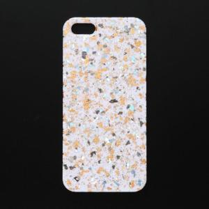 iPhone5/5sケース エトワール/オレンジ W azula-kyoto