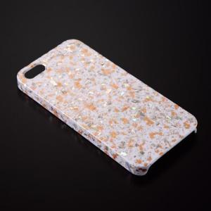 iPhone5/5sケース エトワール/オレンジ W azula-kyoto 02