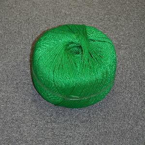 ポリロープ3ミリ(グリーン)  トワイン巻2kG玉(約400m)|azuma-net