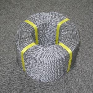 ポリロープ3ミリ(シルバーグレー) 2mカット品|azuma-net