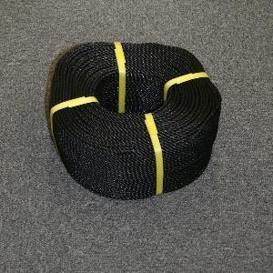 ポリロープ4ミリ(ブラック)  2mカット品|azuma-net