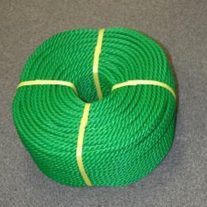 ポリロープ10ミリ(グリーン) カット品