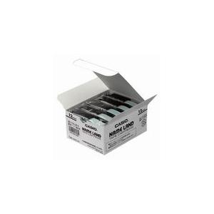 XR-12X-5P-E ネームランドテープ 12mm 透明ラベル/黒文字|azumaya