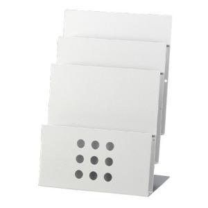 PSR-3 卓上パンフレットスタンド 【A4判3段】|azumaya