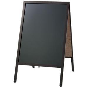 マーカー用A型黒板ダークブラウン B341J|azumaya