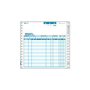 商品詳細:青色発色のノンカーボン紙を採用した、ドットプリンタ用の連続帳票。多くの市販パッケージソフト...