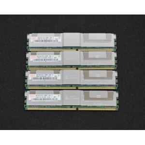 4GB×4枚 (計16GB標準セット) Hynix PC2-5300F FB-DIMM DDR2 667MHz 240 pins ECC Registered Full Buffered【バルク品】|azumayuuki