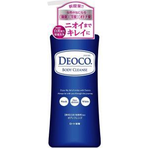 デオコ  DEOCO  薬用 ボディクレンズ  ポンプ  350ml  ロート製薬