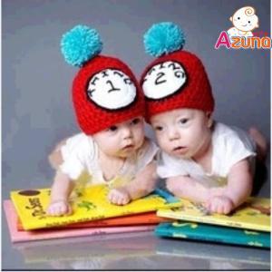 双子帽子 帽子 子供 出産祝い 人魚 ミニー ミッキー ディ...