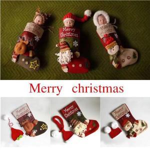 ■商品名:クリスマス赤ちゃんコスチューム ■商品内容:靴下と帽子の2点セット      ☆☆☆オスス...