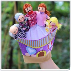 ■商品名:布製指人形  ☆☆☆☆☆☆おすすめポイント☆☆☆☆☆☆☆  ▼赤ちゃんの知能、五感を育てる...