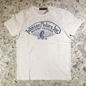 JOHNSON MOTORS ジョンソンモータース Tシャツ winged wheel 0068ow|azurshop