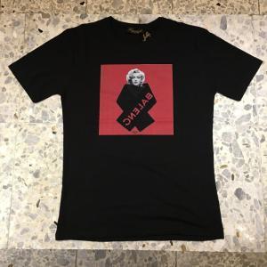 フォワードミラノ Forward MILANO クルーネック 半袖 Tシャツ マリリンモンロー 03066-20黒 バレンシアガ|azurshop