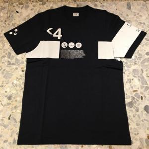シーピーカンパニー C.P.COMPANY Tシャツ 08CMTS170A-5679W888紺|azurshop