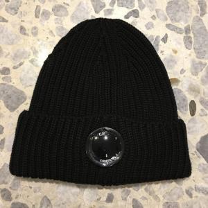 シーピーカンパニー C.P.COMPANY ニット キャップ 帽子 ロゴ入りレンズ 174A3321A|azurshop