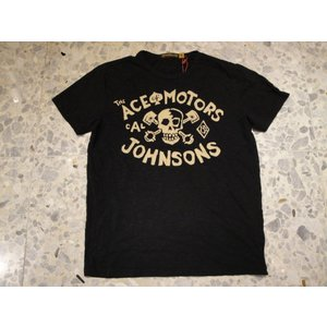 JOHNSON MOTORS ジョンソンモータース Tシャツ ace of motors 43914oiled black|azurshop