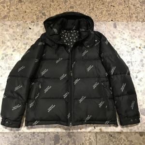 ルシアン ペラフィネ lucien pellat-finetフード付きダウン ジャケット ロゴ81751bl|azurshop