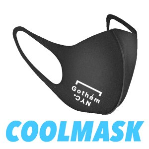 GOTHAM.NYC GN730 URETHAN MASK ゴッサムニューヨーク エヌワイシー 洗える 冷感マスク  繰り返し使用出来る 2枚組1セット ふつうサイズ|azurshop