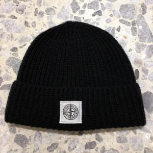 ストーンアイランド ニット キャップ 帽子 STONE ISLAND A26A7-059|azurshop