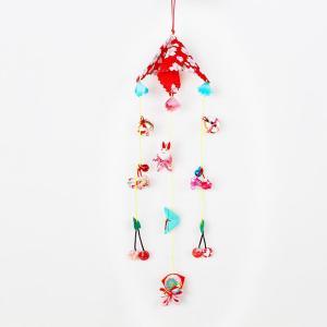 さるぼぼ 変わり吊し つるし雛 つるし飾り さげもん 傘福