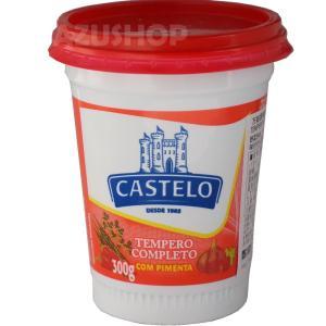 スパイスソルト 赤いふた 唐辛子入り 300g CASTELO カステロ|azuselectshop