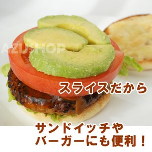 冷凍 アボカド スライス 500g トロピカルマリア