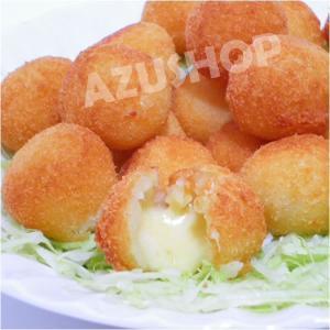 ボリンニョ チーズがトロ〜り Mini Bolinho Queijo 400g(20g×18個) 冷凍コロッケ|azuselectshop|02