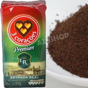 ブラジルコーヒー  500g トレス コラソエンス プレミアム Cafe 3 Coracoes Premium|azuselectshop