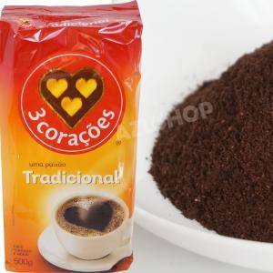 ブラジルコーヒー  500g トレス コラソエンス トラディショナル Cafe 3 Coracoes Tradicional|azuselectshop
