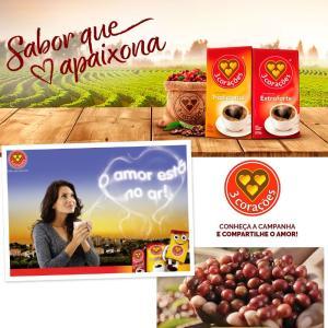 ブラジルコーヒー  500g トレス コラソエンス エクストラフォルテ Cafe 3 Coracoes Extraforte azuselectshop 02
