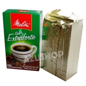 ブラジルコーヒー メリタ エクストラフォルチ 500g MELITTA Extraforte 深煎り|azuselectshop|05