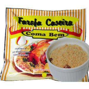 訳あり 味付キャッサバ粉 ファロッファ カゼイラ 300g Farofa Caseira Coma Bem|azuselectshop