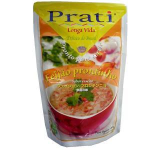 フェイジョン プロンチンニョ 350g カリオカ豆の煮込み レトルトパック|azuselectshop