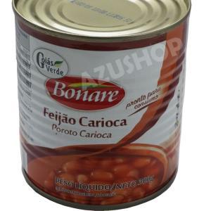 フェジョンの缶詰 うずら豆煮込み 300g ブラジル料理 feijao carioca GoiasVerde|azuselectshop