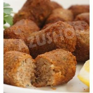 冷凍コロッケ 小麦ふすまの肉団子 牛ひき肉のキビ 300g(20g×15個)|azuselectshop|02