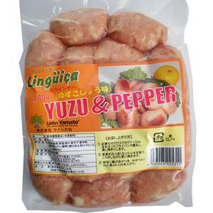 生ソーセージ 大分県の川津食品の柚子胡椒入り 500g 16本入 リングイッサ 冷凍|azuselectshop|02