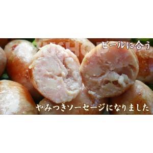 生ソーセージ 大分県の川津食品の柚子胡椒入り 500g 16本入 リングイッサ 冷凍|azuselectshop|05